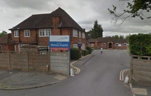 Molesey Hospital (courtesy of Surrey Comet)